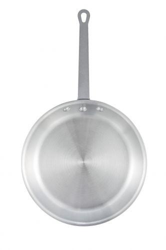 Winco AFP-14S, 14-Inch Satin Finish Aluminum Fry Pan, NSF
