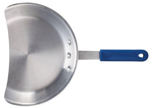 Winco AGP-10, 10-Inch Dia Aluminum Gyro Pan, Silicone Handle, Blue, NSF