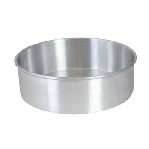 Thunder Group ALCP0802, 8x2-Inch Aluminum Layer Cake Pan