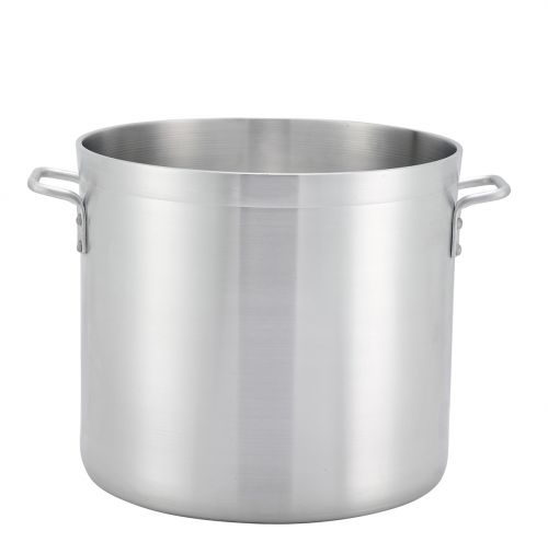 Winco ALHP-20, 20-Quart Precision Extra Heavy Aluminum Stock Pot, NSF