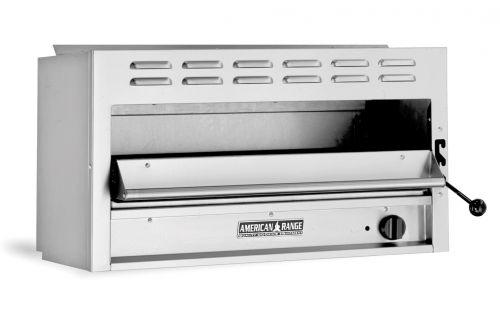 American Range ARSM-36, 36 inch 1 Infra-red Burner 36 inch Salamander Broiler, NSF