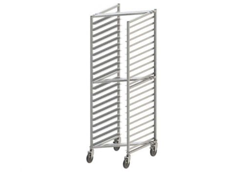 Winco AWZK-20, Welded 20-Tier Rack for Aluminum Sheet Pans, Nesting Style, 3-inch Spacing, NSF
