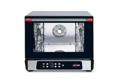 Axis AX-514RHD, Countertop Convection Oven, Half Size Pan, 4 Shelves, Digital Controllers