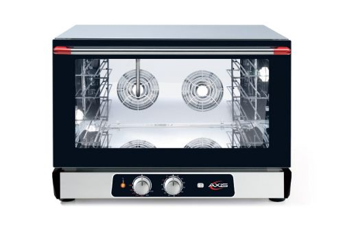 Axis AX-524RH, Countertop Convection Oven, Full Size Pan, 4 Shelves, Manual Controllers