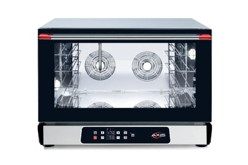 Axis AX-524RHD, Countertop Convection Oven, Full Size Pan, 4 Shelves, Digital Controllers