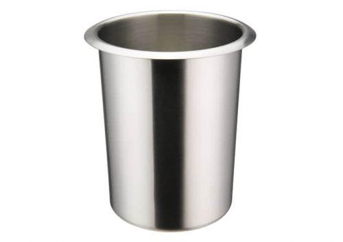 Winco BAMN-1.25, 1.25-Quart Stainless Steel Bain Marie Pot w/о Lid, NSF