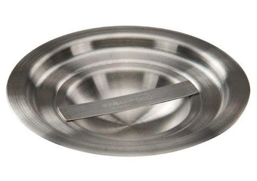 Winco BAMN-1.25C, 5-Inch Dia 1.25-Quart Stainless Steel Bain Marie Pot Cover, NSF