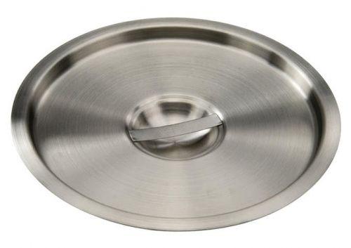 Winco BAMN-12C, 10-Inch Dia 12-Quart Stainless Steel Bain Marie Pot Cover, NSF