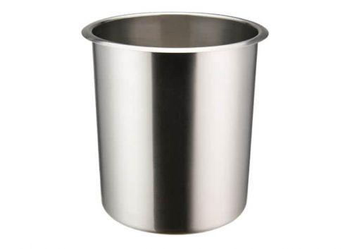 Winco BAMN-3.5, 3.5-Quart Stainless Steel Bain Marie Pot w/о Lid, NSF