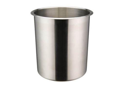 Winco BAMN-4.25, 4.25-Quart Stainless Steel Bain Marie Pot w/о Lid, NSF