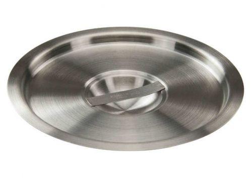 Winco BAMN-6C, 8-Inch Dia 6-Quart Stainless Steel Bain Marie Pot Cover, NSF