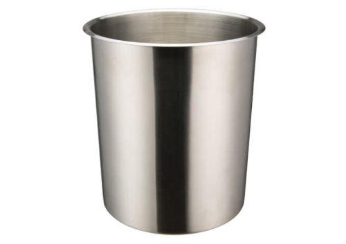 Winco BAMN-8.25, 8.25-Quart Stainless Steel Bain Marie Pot w/о Lid, NSF