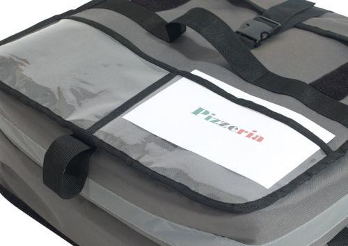 Winco BGPZ-1909 WinGo Premium Insulated Pizza Delivery Bag, Medium