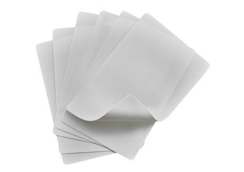 Winco CBF-1218W, 12x18-Inch Flexible Cutting Mats, White, 6-Piece Set, NSF