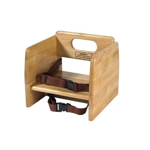 Winco CHB-701, Wood Booster Seat, Natural Color