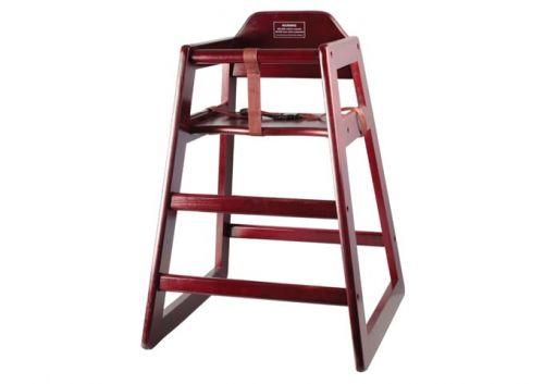 Winco CHH-103, Mahogany High Chair