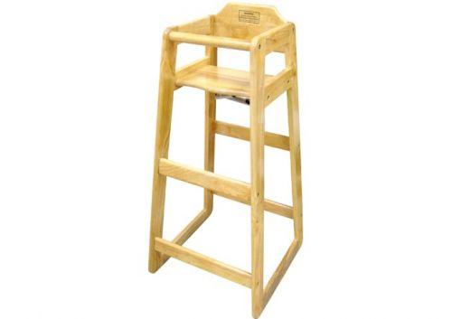Winco CHH-601, Wooden Pub High Chair