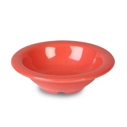 Thunder Group CR5044RD 4 Oz 4 3/4 Inch Western Orange Melamine Salad Bowl, DZ