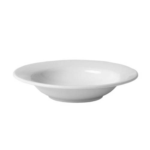 Thunder Group CR5077W 8 Oz 7 3/4 Inch Western White Melamine Wide Rim Salad Bowl, DZ