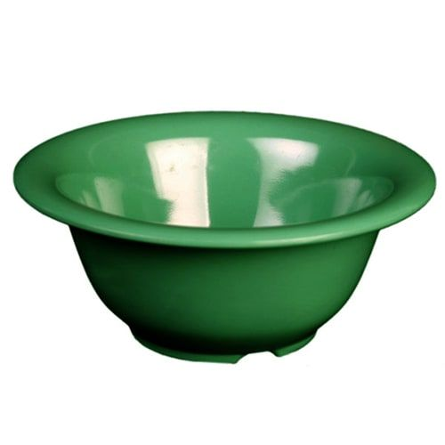 Thunder Group CR5510GR 10 Oz 5 1/2 Inch Western Green Melamine Soup Bowl, DZ