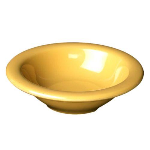 Thunder Group CR5608YW 8 Oz 6 Inch Western Yellow Melamine Salad Bowl, DZ
