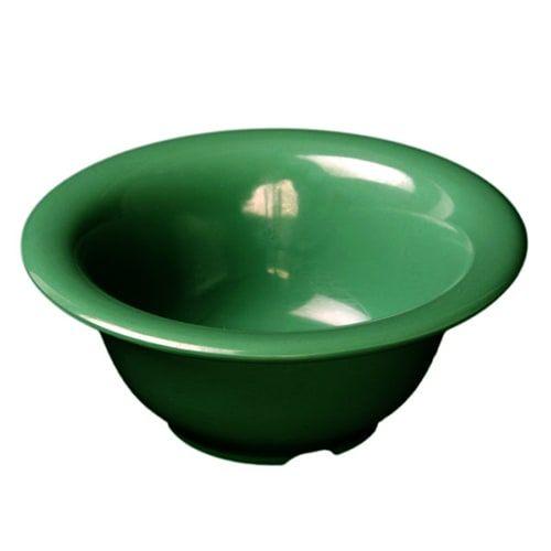 Thunder Group CR5712GR 15 Oz 7 1/4 Inch Western Green Melamine Soup Bowl, DZ