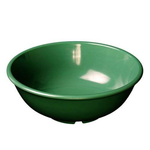 Thunder Group CR5807GR 32 Oz 7 1/2 Inch Western Green Melamine Salad Bowl, DZ
