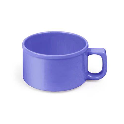Thunder Group CR9016BU 10 Oz 4 Inch Western Purple Melamine Soup Mug, DZ