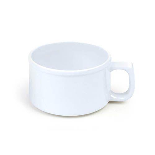 Thunder Group CR9016W 10 Oz 4 Inch Western White Melamine Soup Mug, DZ