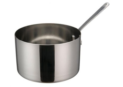 Winco DCWA-106S, 5-Inch Dia Stainless Steel Mini Sauce Pan with Long Handle