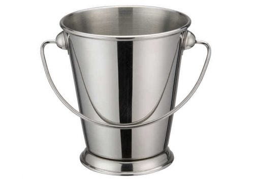 Winco DDSA-106S, 3-3/4-Inch Dia Stainless Steel Mini Serving Pail with Handle