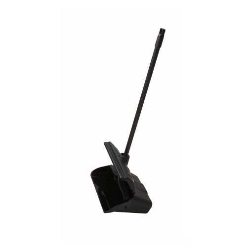 Winco DP-13C, 13-Inch Lobby Dust Pan with Wind Break Cover