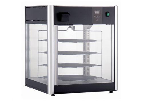 Winco EDM-1K, Rotating Heated & Humidified Display Merchandiser, 110-120V, 1500W