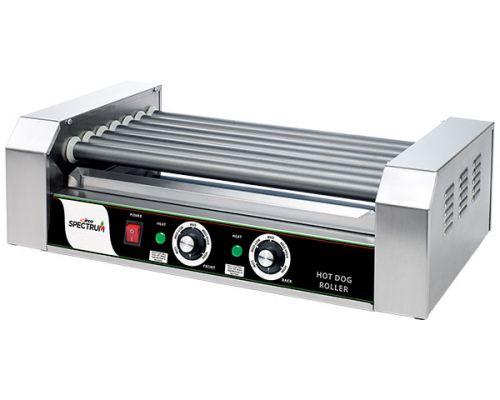 Winco EHDG-7R 18-Dog Hot Dog Spectrum RollRight Roller