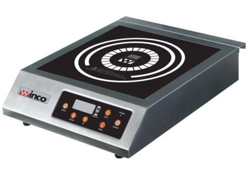 Winco EIC-400B, Commercial Electric Induction Cooker, 3200W, Black, NSF,ETL (Discontinued)