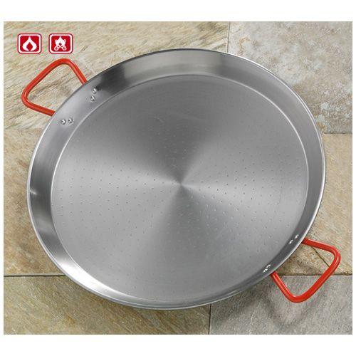 Garcima G10028 11 inches/28 cm PAELLA Polished Steel Pan