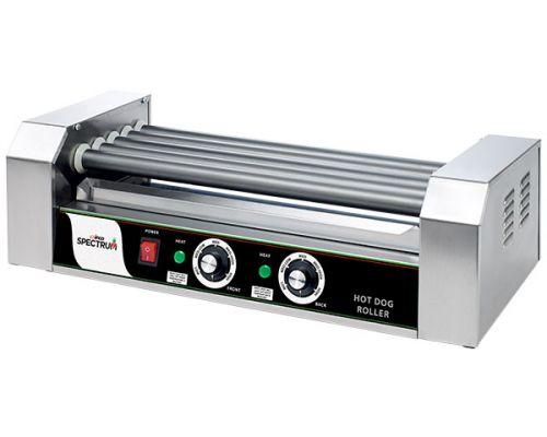 Winco EHDG-5R 12-Dog Hot Dog Spectrum RollRight Roller
