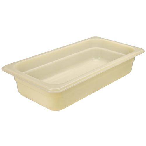 Winco HHP106 6 Inch Deep 19.5L Full-Size Nylon High Heat Food Pan, PC