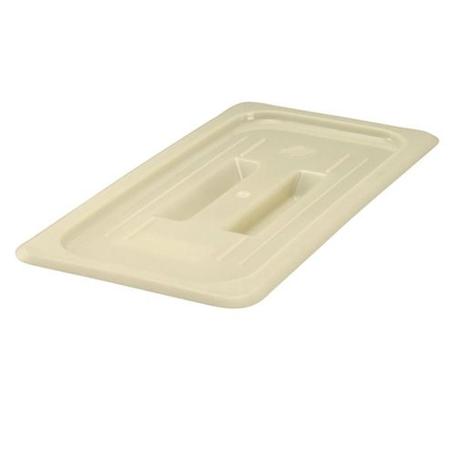 Winco HHP300S 6 7/8 x 12 ¾ Inch 1/3-Size Nylon High Heat Solid Cover for HHP304/306, PC