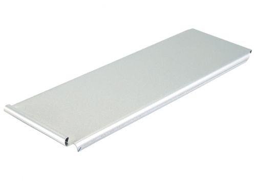 Winco HPP-20L Aluminized Steel Pullman Pan Cover with Silicone Glaze, EA