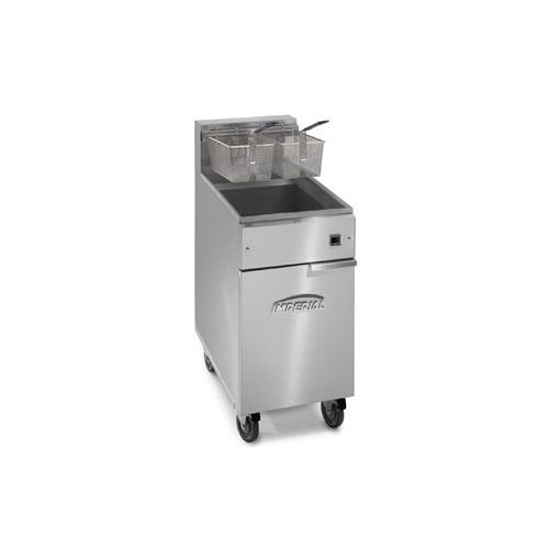 Imperial IFS-50-E, 2-Basket Floor Electric Fryer, NSF, ETL, CSA, CE