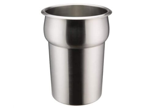 Winco INSN-2.5 2.5 Qt Stainless Steel Round Inset
