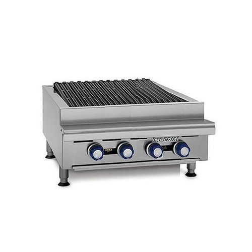 Imperial IRB-24, 24 inch Counter Top Radiant Broiler, CETLus, NSF, CE