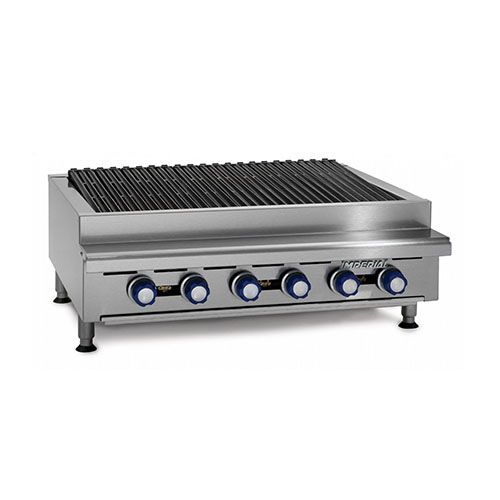 Imperial IRB-36, 36 inch Counter Top Radiant Broiler, CETLus, NSF, CE