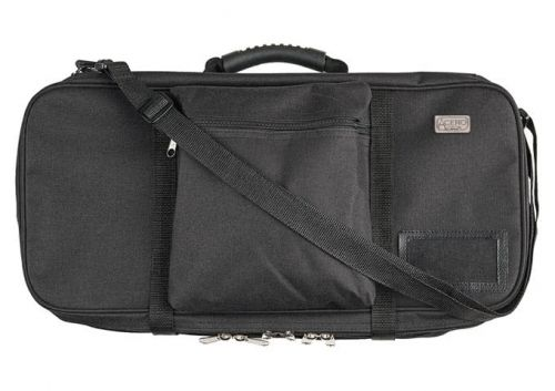 Winco KBG-29, 29-slots Polyester Cutlery Knife Bag with Handle, Triple-Zip, Black