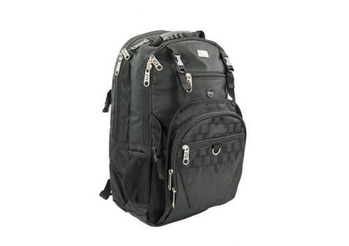Winco KBP-1, 15х22-Inch Polyester Cutlery Bagback, Black