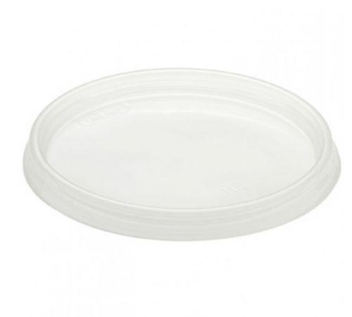 SafePro L128, Lids for White Plastic Containers, 100/CS