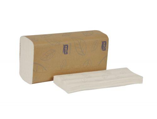 Tork MB558, 1-Ply 3-Panel Advanced Soft Xpress Multifold Hand Towel, White, 3200/CS