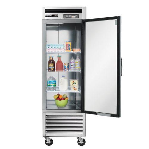 Maxx Cold MCR-23FDHC Single Door Reach-In Refrigerator, Bottom Mount