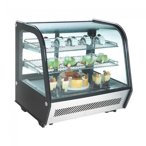 Marchia MDC120 28-inch Refrigerated Display Case, S/S Front